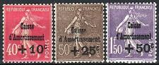 """FRANCE STAMP TIMBRE N° 266/68 """" SEMEUSE 4ème SERIE C.A.1930 """" NEUF xx LUXE M742"""
