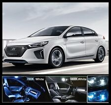 8PCS BANDI White Car LED Interior Light Full Package For Hyundai IONIQ Hybrid
