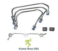 New Kubota L3400 L3410 L3430 L35 L3540 L3800 L3830 L39 Injector Fuel Pipe Set