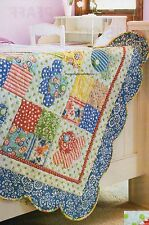 Simply Scalloped Quilt Pattern Pieced/Applique LB