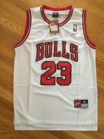 Michael Jordan Hardwood Throwbacks #23 White Chicago Bulls Kids/Youth Jersey