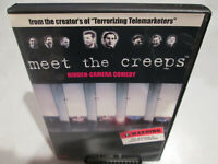 Meet the Creeps DVD autographed by Don Jamieson and Jim Florentine