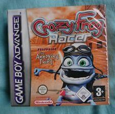 Crazy frog racer Game Boy Advance neuf sous blister