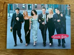 Friends 1994 Episode Guide Booklet - Seasons 1 2 3 4 5 6 7 8 9 10