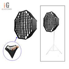 Umbrella Octagon Softbox with Grid For SpeedLight/Flash 95cm/37in
