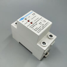 40A 3 LED automatic recovery over and  under voltage protective device relay