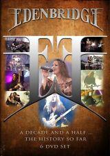 EDENBRIDGE - A DECADE AND A HALF...THE HISTORY SO FAR 6 DVD NEU