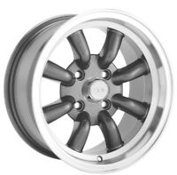 16X7 KONIG REWIND 4X114.3 +0 GRAPHITE Rims (Set of 4)