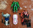 Lot Of 4 - Misc Transformers Action Figures- Arcee, Mirage, Movie