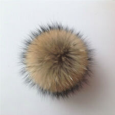 1Pc Fluffy Faux Fur Pom pom Ball for Hat Scarves Hand Bag Keychain Accessory New