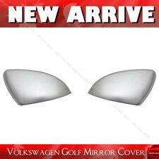 for VW Volkswagen Golf MK7 VII GTI 14-17 Chrome Aluminum Mirror Cover Cap Upper