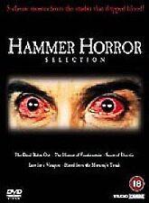 HAMMER HORROR SELECTION 5 DVD  SET WITH 5 ART CARDS DVD BOX SET