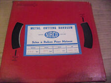 """Sirco/Weka 100 Foot Coil 1/8"""" x 32 TPI Carbon Band Saw Blade Stock"""