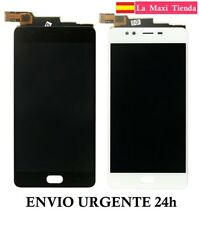 "Pantalla Completa para ""ZTE Nubia M2 Lite"" Negra Blanca (LCD + Tactil) Cristal"