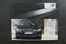 BMW Serie 3 E90 Sedán Prospecto Indicador Folleto Catálogo Individual Tapa Dura