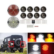 Land Rover Defender 90-16 Complete Led Lamp Upgrade Kit 73mm 95mm Indicator Lamp