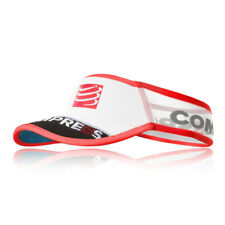 Compressport Unisexe UltraLéger Visière Blanc Sports Running Triathlon Respirant