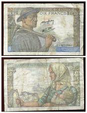 10 francs MINEUR  20:01:1944   ( K 79 )