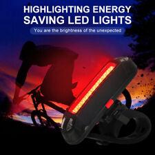 Impermeable Bicicleta LED Luz Trasera Mazorca Recargable USB Luces SPORTS