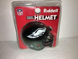 Philadelphia EAGLES RIDDELL POCKET CHROME PRO MINI HELMET NFL Football New