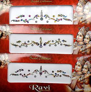 1 PACK of BRIDAL Multicolour CHOOSE YOUR STYLE Indian Gem TIKKA Festival BINDI