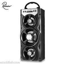 Redmaine MS - 220BT Portable Bluetooth Speaker LED FM Radio AUX USB TF Card Slot