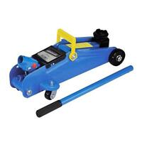 Hydraulic Trolley Jack Sturdy All Steel Construction Quick Fit Handle 2 TONNE