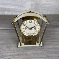 Vintage Schatz & Sohne Germany Mechanical Clock Mantel 2 Jewel 8 day (59)
