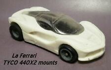 Resin HO SLOT CAR scale LaFerrari Ferrari TYCO mounts NEW 2019 tooling