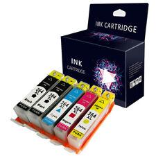 5 Ink Cartridges Compatible With HP364XL Deskjet 3070A 3520 PhotoSmart 5510 6515