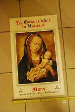 AF1 Ancienne affiche - Les trésors d'Art Du Hainaut - Mons