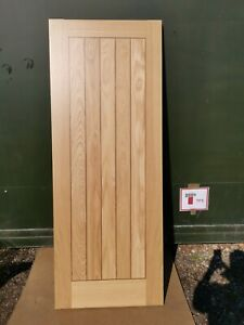 DFL1260 Howdens Dordogne Oak Veneer Prefinished FD30 2'6 Int. Flush Fire Door