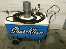 Shur Kleen model 1000, pneumatic heated bath pressure washer