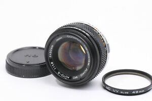 Olympus MC Zuiko Auto S 50mm F/ 1.8 Standard Prime Lens For OM JAPAN 210230
