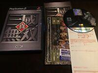 PS2 Koei Shin Sangoku Musou (Dynasty Warriors 2) Japan Import - US Seller