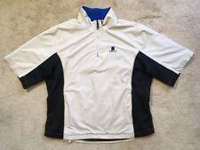 VGC FootJoy DryJoys Waterproof 1/2 Zip Golf Pullover Rain Shirt Jacket MSRP $170