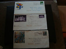FRANCE - 3 enveloppes entier 1996 1997 2000 (cy19) french