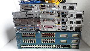Cisco CCNA CCNP CCSP CCIE Home Lab Kit  2600XM 1841 ,2811