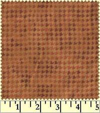 Shadow Play  Woolies - Flannel - Cinnamon Hounds Tooth F1840-O