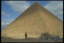 030007 Khufu Pirámide de Giza meseta de El Cairo A4 Foto Impresión