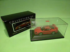 HERPA 1:43  FERRARI F40  LIM EDITION 1000 PCS  - GOOD CONDITION IN BOX