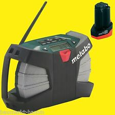 METABO Baustellenradio PowerMaxx WILD CAT RC Radio 10,8Volt + 1xAkku