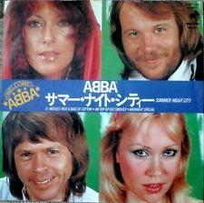 "ABBA - SUMMER NIGHT CITY 7"" VINYL SINGLE JAPAN DISCOMATE NM/EX"