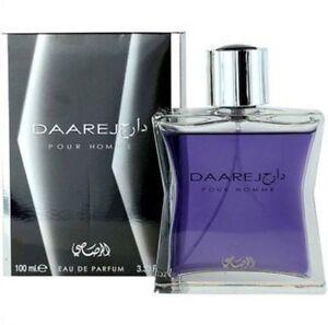 Dareej Men EDP Spray by Rasasi -100ml Sandalwood, Patchouli, Amber 100% Original