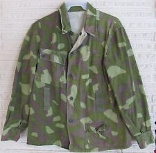FINLAND FINNISH ARMY M/62 REVERSIBLE WOODLAND/SNOW CAMO BDU JACKET SIZE 52 LARGE