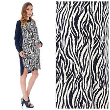 IMANIMO  ZEBRA  PRINT   MATERNITY SHIFT  DRESS    Sz L  NEW  Nordstrom  $ 99