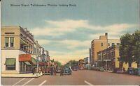 Tallahassee, FLORIDA - Monroe Street - old cars