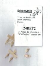 Accessori 1/24 RETROVISORI VITALONI TIPO CALIFORNIA anni 70 Renaissance 24RET2
