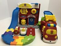 VTech Go! Go! Smart Wheels Fire Command Rescue Center Playset