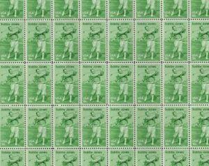 #1933 $0.18 Bobby Jones full mint sheet of 50 MNH OG